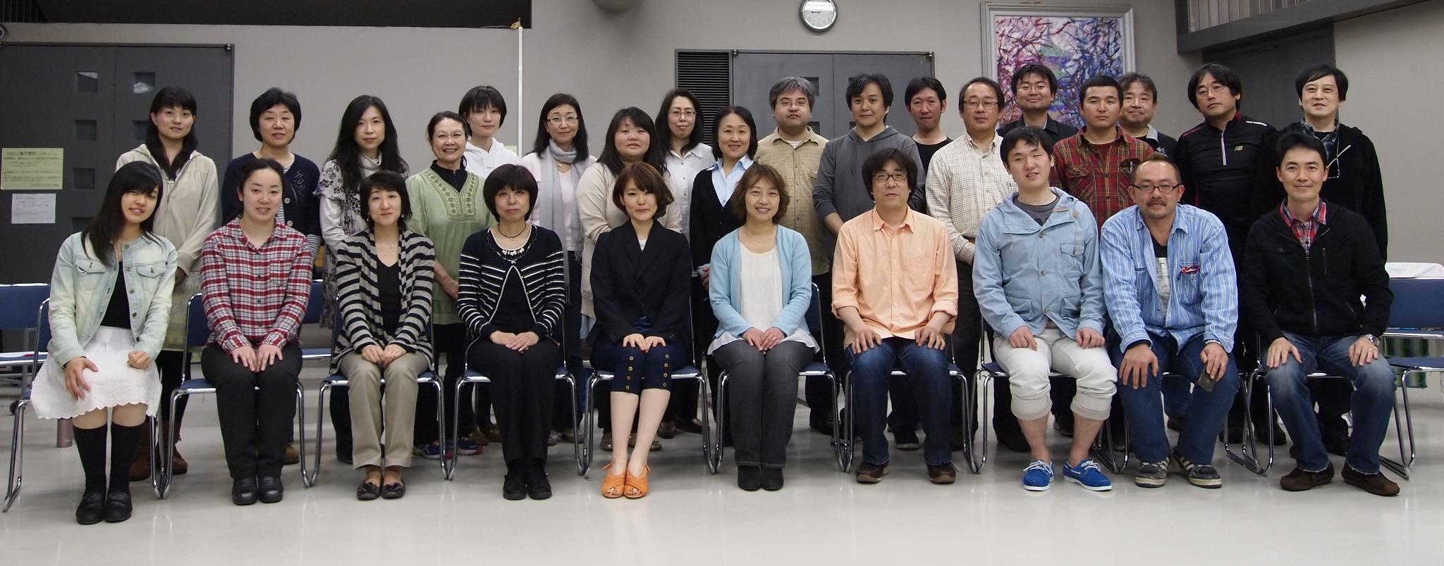横山潤子先生とダイアファナスのゆかいな仲間たち